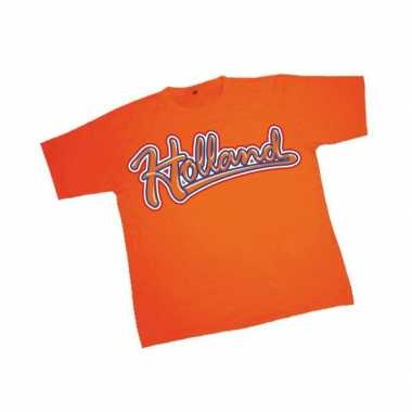 Holland baseball t-shirt oranje