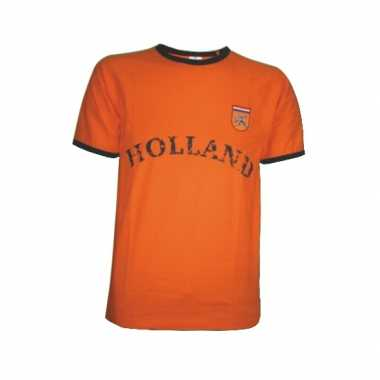 Holland shirt oranje tekst Holland