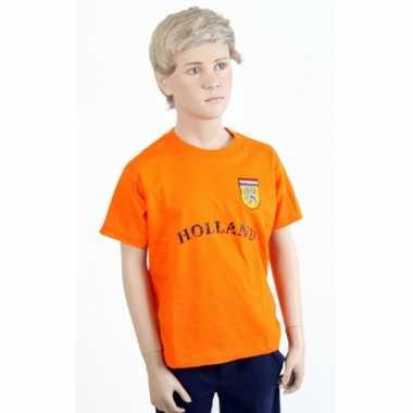 Holland shirt oranje tekst Holland