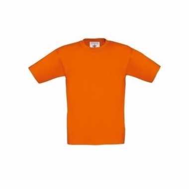 Kleding Kinder t-shirt oranje