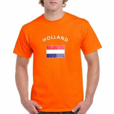 Oranje holland vlag t-shirts